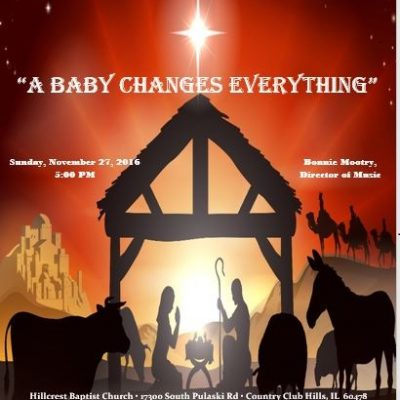"""Hanging of the Green - """"A Baby Changes Everything ..."""
